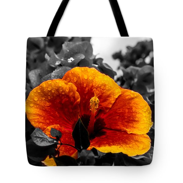Tote Bag featuring the photograph Hibiscus Beauty by Randy Sylvia