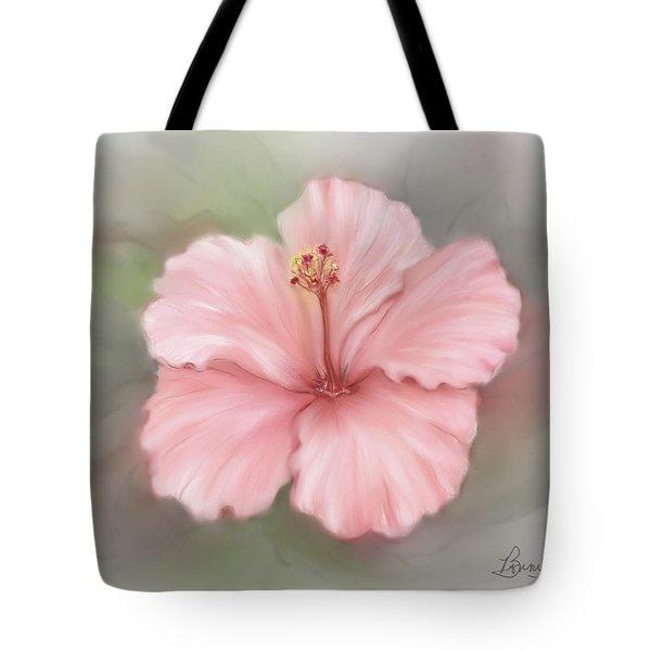 Hibiscus  Tote Bag by Bonnie Willis