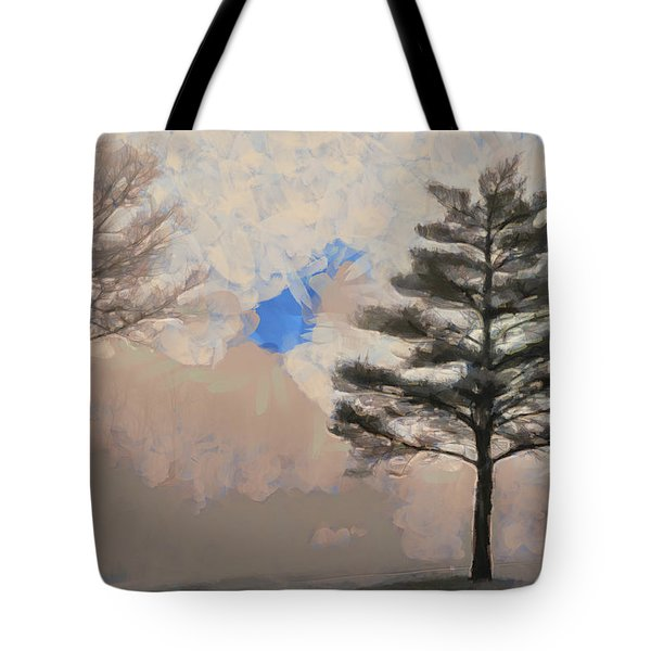 Hickory Tote Bag by Trish Tritz