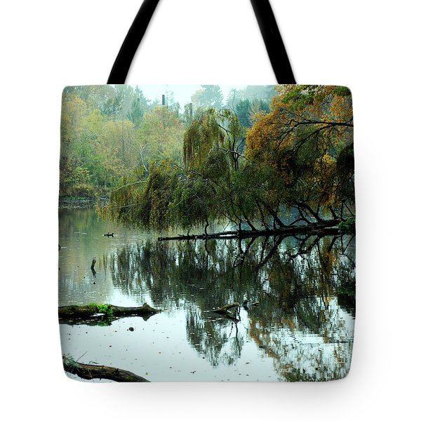 Hidden Lake Tote Bag by Kathleen Grace