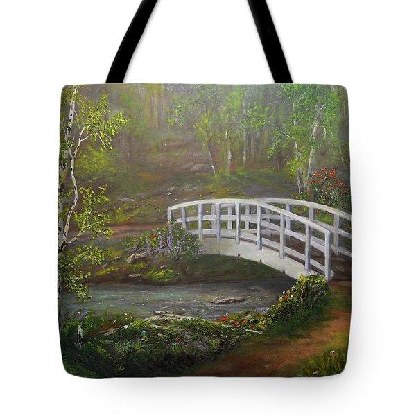 Hideaway Tote Bag by Michael Mrozik