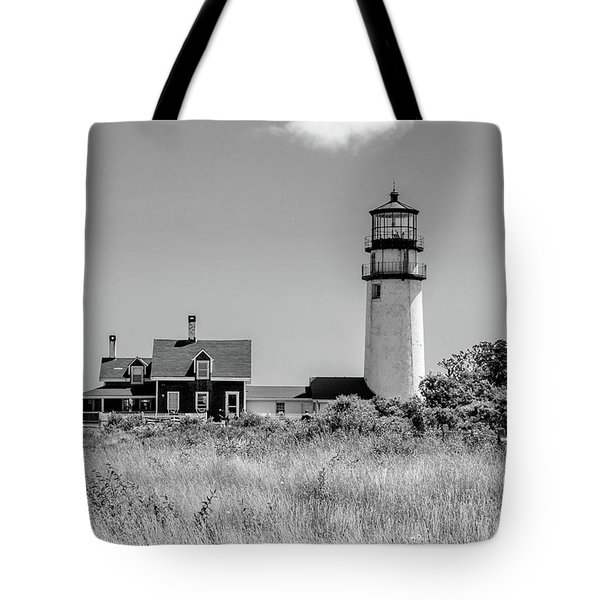 Highland Light - Cape Cod Tote Bag by Peter Ciro