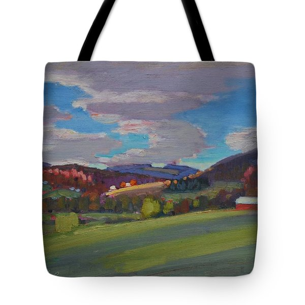 Hills Of Upstate New York Tote Bag