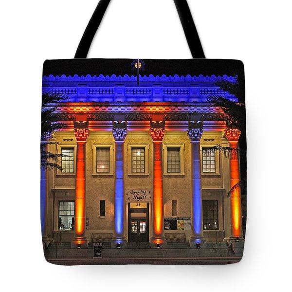 Hippodrome In Color Tote Bag