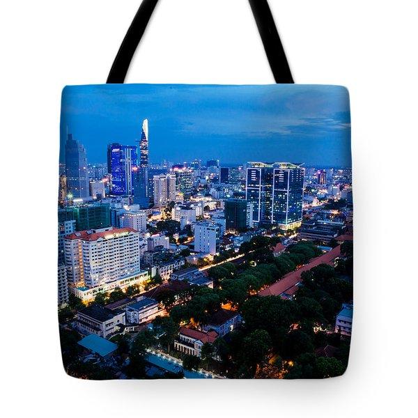 Ho Chi Minh City Night Tote Bag