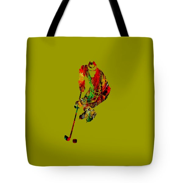 Hockey Collection Tote Bag by Marvin Blaine