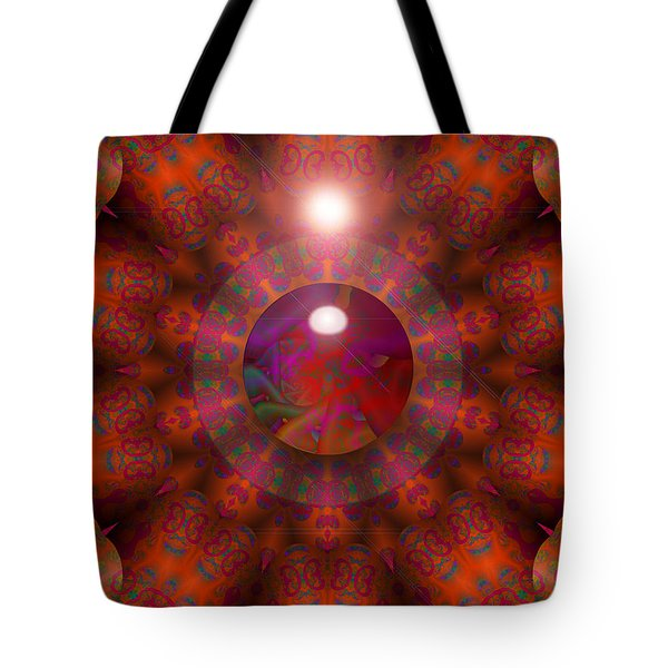 Tote Bag featuring the digital art Hold On by Robert Orinski