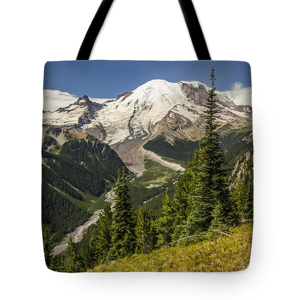 Holding Back The Clouds Tote Bag