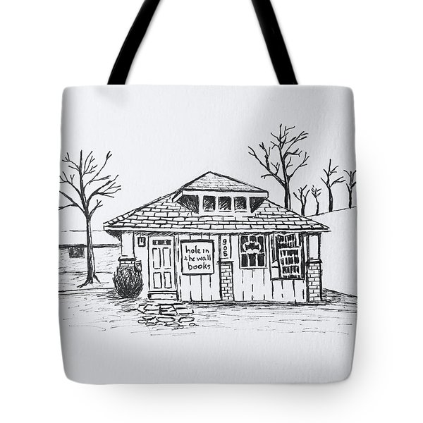 Hole In The Wall Books Tote Bag