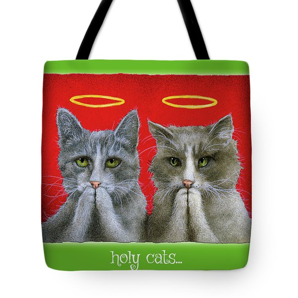 Holy Cats... Tote Bag
