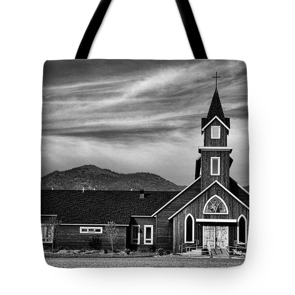 Holy Family Catholic Church Tote Bag