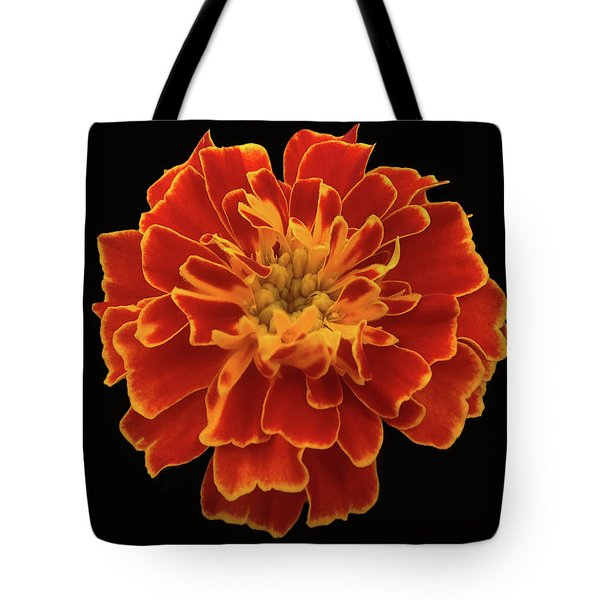 Home Grown Marigold Tote Bag