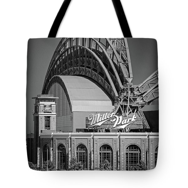 Home Of The Milwaukee Brewers Tote Bag