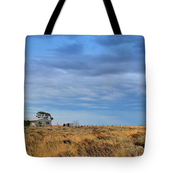 Tote Bag featuring the photograph Homestead by Tim Nichols