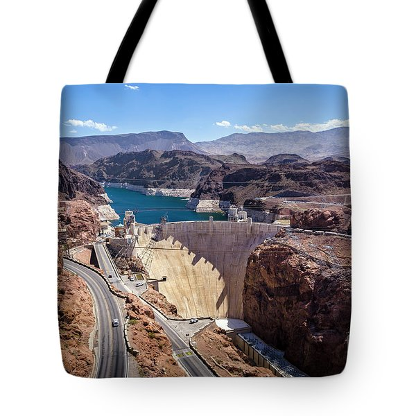 Hoover Dam Tote Bag by RicardMN Photography