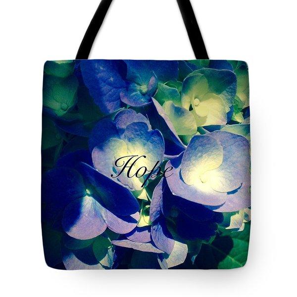 Hope- Edit Tote Bag by Alohi Fujimoto