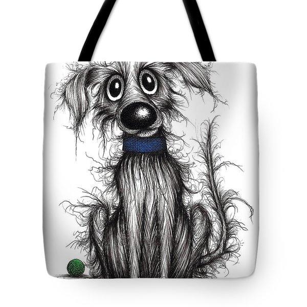 Horrible The Dog Tote Bag
