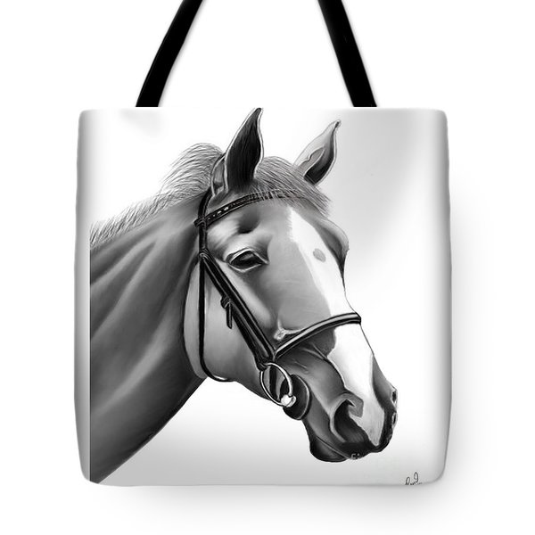 Horse Tote Bag by Rand Herron