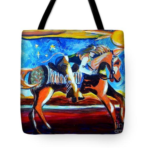 Horse Whisperer Tote Bag