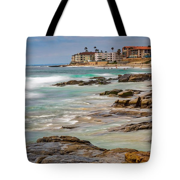 Horseshoe Beach Tote Bag by Peter Tellone