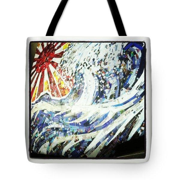 #hosukai #tsunami #jdm #risingsun Tote Bag