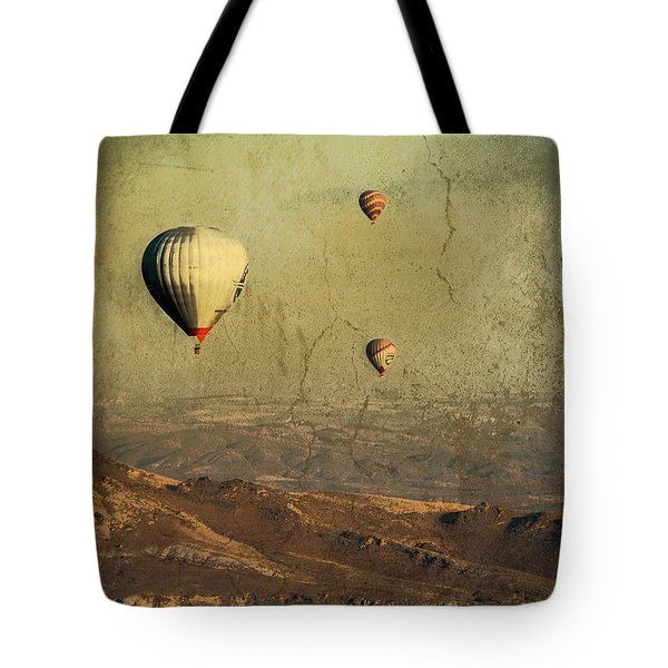Going On A Magical Ride Tote Bag
