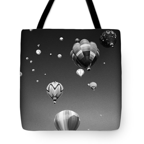 Hot Air Balloons Tote Bag by Michael Howell - Printscapes