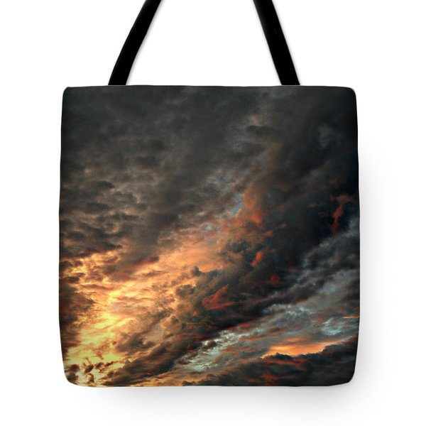 How About Them Clouds Tote Bag