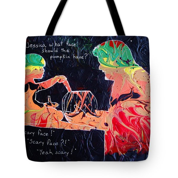 How Does She Know That Word? Tote Bag