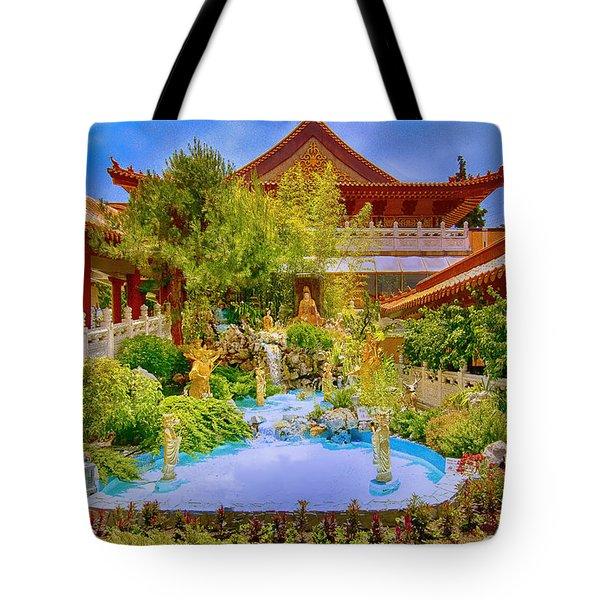 Hsi Lai Temple Tote Bag