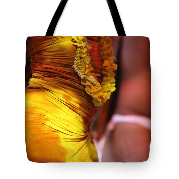 Hula Dancers Tote Bag by Nadine Rippelmeyer