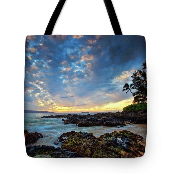 Hula Sunset Tote Bag