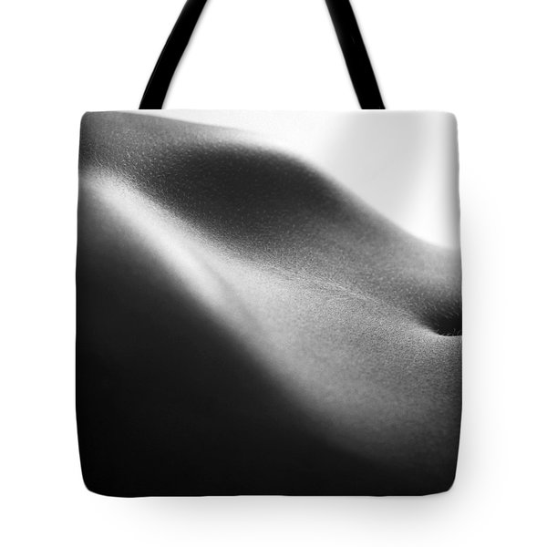 Human Form Abstract Body Part Tote Bag by Anonymous
