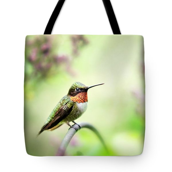 Tote Bag featuring the photograph Hummingbird II by Christina Rollo