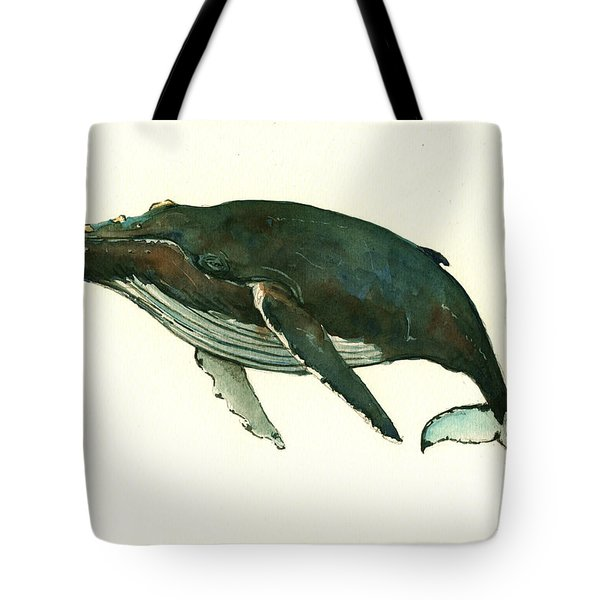 Humpback Whale  Tote Bag by Juan  Bosco