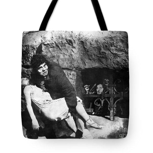 Hunchback Of Notre Dame Tote Bag by Granger