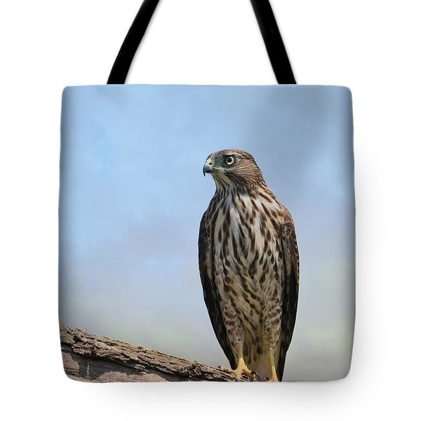 Hunter Tote Bag by Fraida Gutovich
