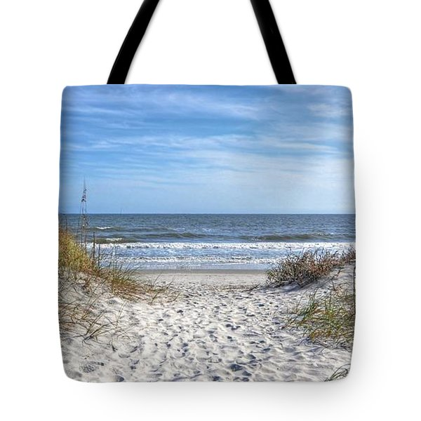 Huntington Beach South Carolina Tote Bag