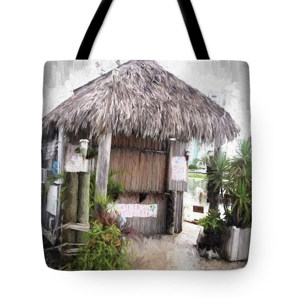 Hut Tote Bag