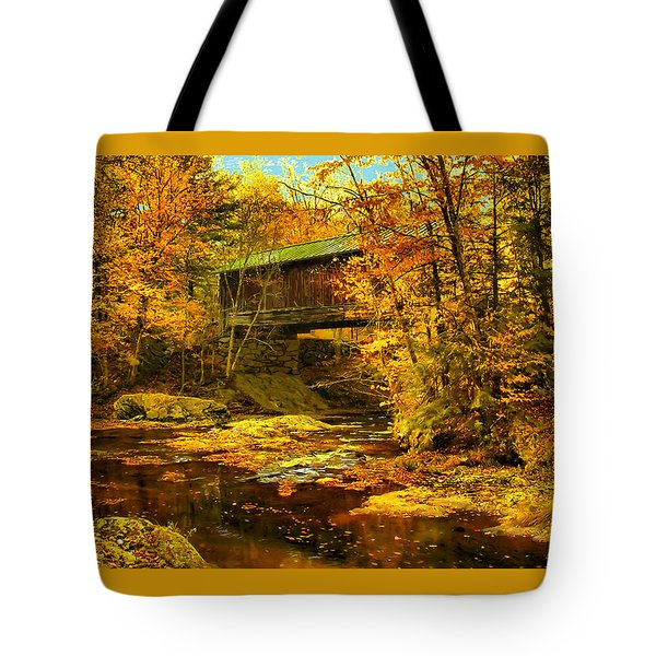 Hutchins Bridge Tote Bag