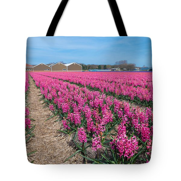 Tote Bag featuring the photograph Hyacinth Flowers by Hans Engbers
