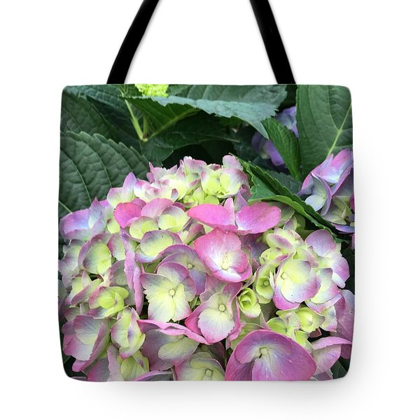 Hydrangea Tote Bag by Kay Gilley