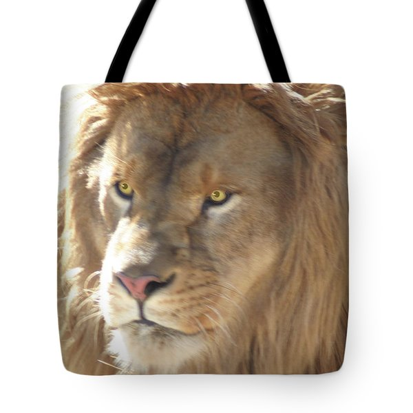 I Am .. The Lion Tote Bag