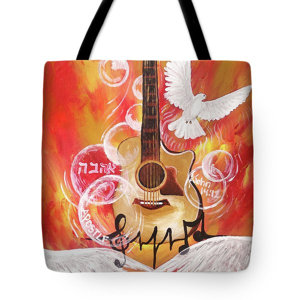 I Can Hear The Sound Tote Bag