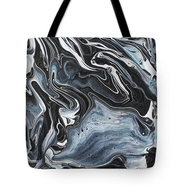 I Know It Looks Like Marble Tote Bag