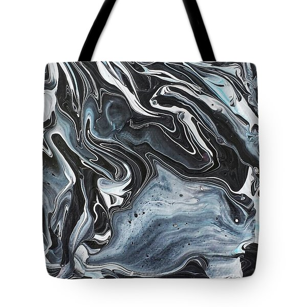 I Know It Looks Like Marble Tote Bag