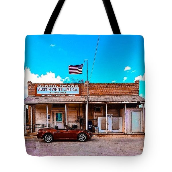 I Live In The 11th Most Populated City Tote Bag