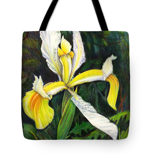 Tote Bag featuring the drawing I Rise To Thee by Nancy Cupp