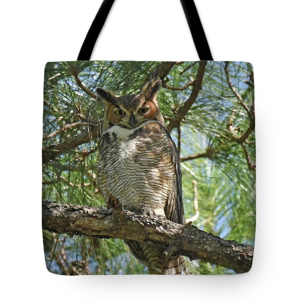 Tote Bag featuring the photograph I See You by Sally Sperry