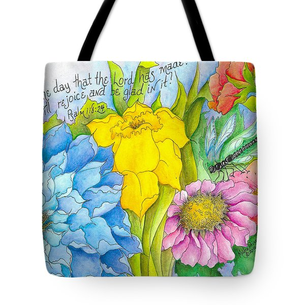 I Will Rejoice Tote Bag